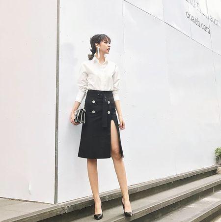 My nhan Viet langxe phong cach nu tinh tren san dien street style - Anh 2
