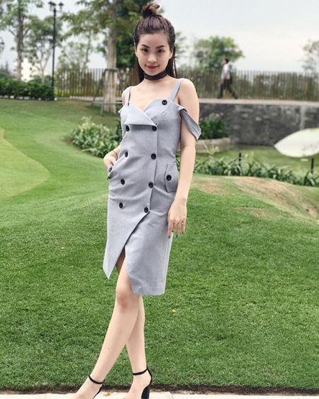 My nhan Viet langxe phong cach nu tinh tren san dien street style - Anh 4