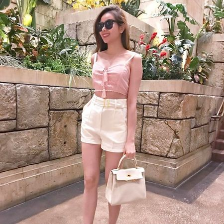 My nhan Viet langxe phong cach nu tinh tren san dien street style - Anh 9