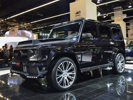 Brabus 900: Xe off-road dinh cao gia 18,16 ty dong - Anh 1
