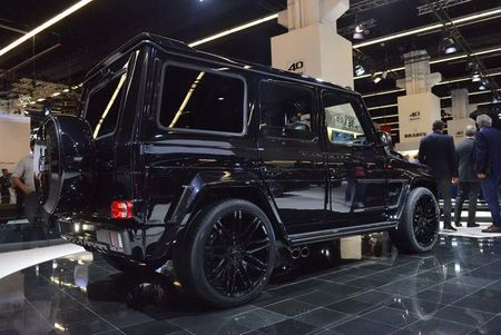 Brabus 900: Xe off-road dinh cao gia 18,16 ty dong - Anh 3