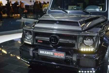 Brabus 900: Xe off-road dinh cao gia 18,16 ty dong - Anh 5
