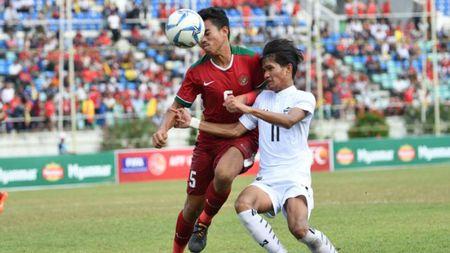 Ha U18 Indonesia bang 'dau sung', U18 Thai Lan vao chung ket - Anh 1