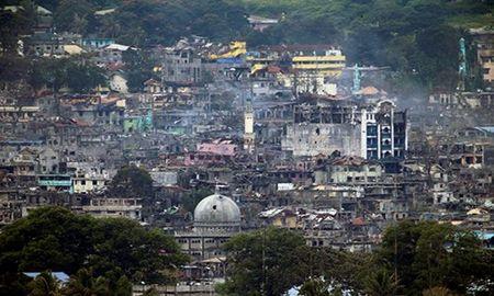 Chum anh canh tuong do nat trong thanh pho Marawi - Anh 11