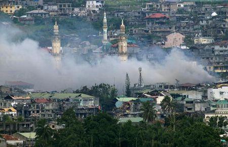 Chum anh canh tuong do nat trong thanh pho Marawi - Anh 2