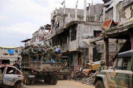 Chum anh canh tuong do nat trong thanh pho Marawi - Anh 5