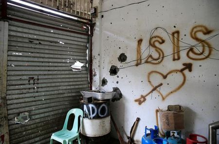Chum anh canh tuong do nat trong thanh pho Marawi - Anh 7