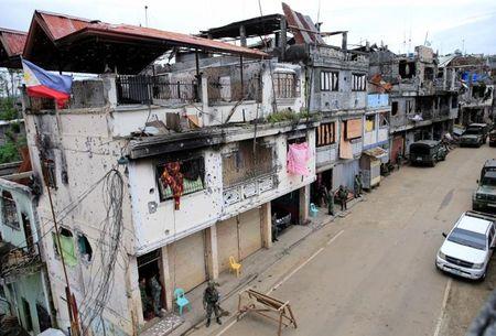 Chum anh canh tuong do nat trong thanh pho Marawi - Anh 8