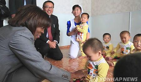Han Quoc van vien tro cho Trieu Tien - Anh 1