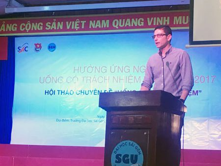 AB INBEV Viet Nam huong ung Ngay hoi uong co trach nhiem toan cau 2017 - Anh 1