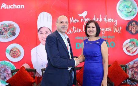 Auchan Viet Nam voi 'Mon ngon dinh duong va tien loi cho nguoi Viet' - Anh 1
