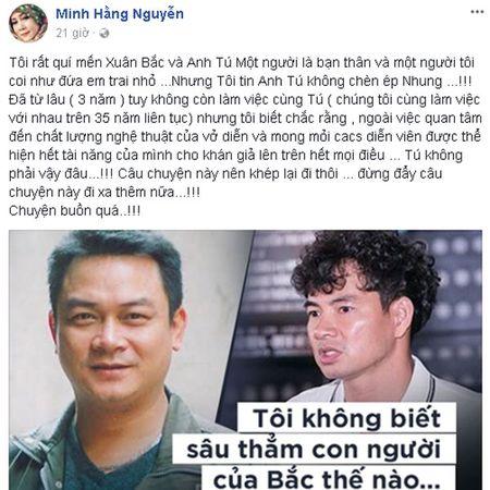 Ban than cua Xuan Bac len tieng vu Hong Nhung livestream - Anh 1