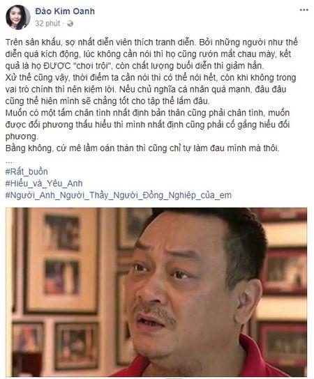 NSUT Trung Anh, 'me chong' Lan Huong noi gi ve chuyen NSND Anh Tu va Xuan Bac tro thanh giam doc - Anh 2