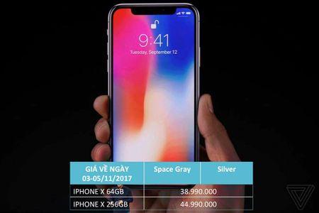 iPhone X rao ban voi gia 44 trieu dong van hut khach dat mua - Anh 1