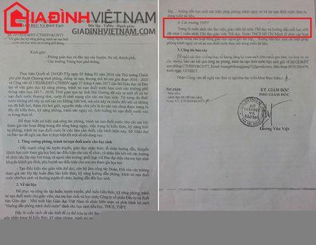 Vu ra van ban 'ep' hoc sinh mua sach tham khao o Hai Duong: 'Khong ep buoc' nhung co 'dinh muc'? - Anh 3