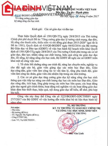 Vu ra van ban 'ep' hoc sinh mua sach tham khao o Hai Duong: 'Khong ep buoc' nhung co 'dinh muc'? - Anh 5