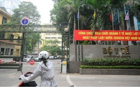 Thanh tra Chinh phu hoan cong bo quyet dinh thanh tra Bo Y te - Anh 1