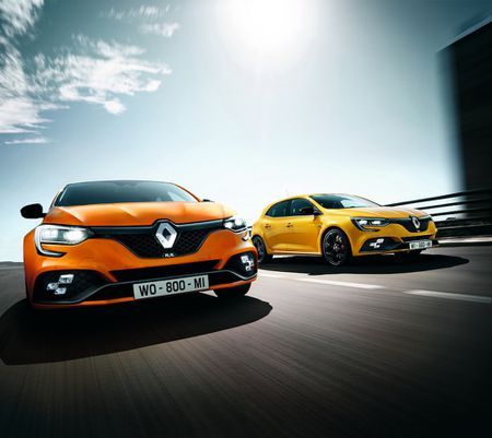 Chi tiet Renault Megane RS moi, doi thu cua Ford Focus RS - Anh 8