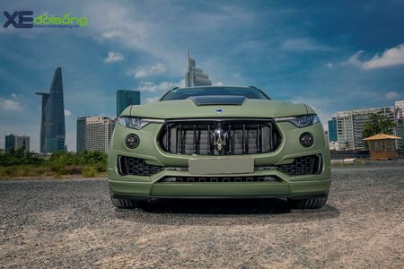 Maserati Levante do dinh nhat Viet Nam voi goi Novitec Esteso - Anh 11