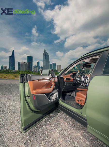 Maserati Levante do dinh nhat Viet Nam voi goi Novitec Esteso - Anh 17