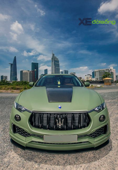 Maserati Levante do dinh nhat Viet Nam voi goi Novitec Esteso - Anh 18