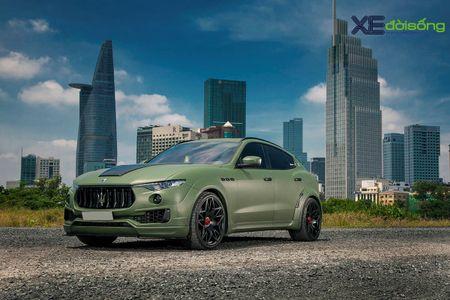 Maserati Levante do dinh nhat Viet Nam voi goi Novitec Esteso - Anh 1