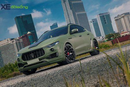 Maserati Levante do dinh nhat Viet Nam voi goi Novitec Esteso - Anh 2