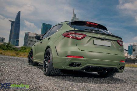 Maserati Levante do dinh nhat Viet Nam voi goi Novitec Esteso - Anh 9