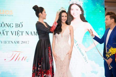 Ha Thu nhan vuong mien, chinh thuc dai dien Viet Nam do sac tai Miss Earth 2017 - Anh 1