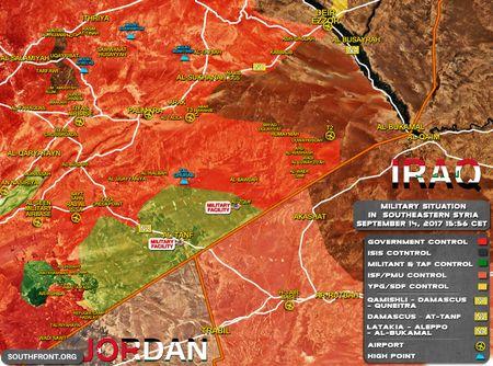 Quan doi Syria, nguoi Kurd dua tan cong IS chiem lanh dia tai Deir Ezzor - Anh 4