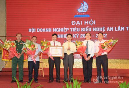 Hoi Doanh nghiep tieu bieu Nghe An don nhan Bang khen cua Thu tuong Chinh phu - Anh 3