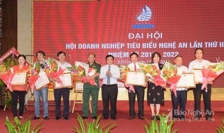 Hoi Doanh nghiep tieu bieu Nghe An don nhan Bang khen cua Thu tuong Chinh phu - Anh 5