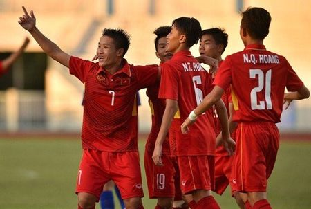 U16 Viet Nam sang cua du vong chung ket ket U16 chau A - Anh 1