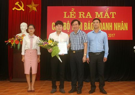 Cong bo Quyet dinh thanh lap Chi bo Thoi bao Doanh nhan - Anh 1