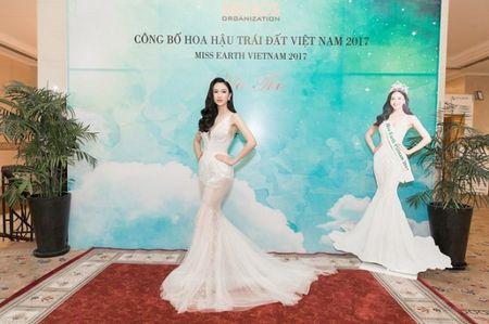 Ha Thu rang ro trong buoi le cong bo dai dien Viet Nam tai Hoa hau Trai dat 2017 - Anh 1