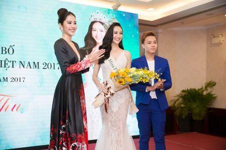 Ha Thu rang ro trong buoi le cong bo dai dien Viet Nam tai Hoa hau Trai dat 2017 - Anh 6