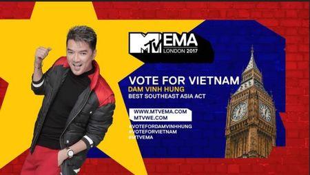 Vuot mat Vu Cat Tuong, Mr Dam chinh thuc la dai dien Viet Nam tranh giai MTV EMA 2017 - Anh 1
