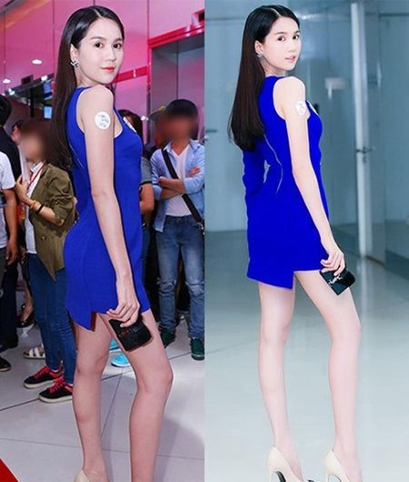 Choang vang voi hinh anh hang loat sao Viet chua qua photoshop: Da den, chan tho, dui to, bung mo... nhin la het ca hon - Anh 5