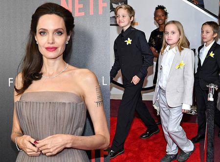 Bi an loai hoa dai gia dinh Angelia Jolie cung cai tren tham do - Anh 1
