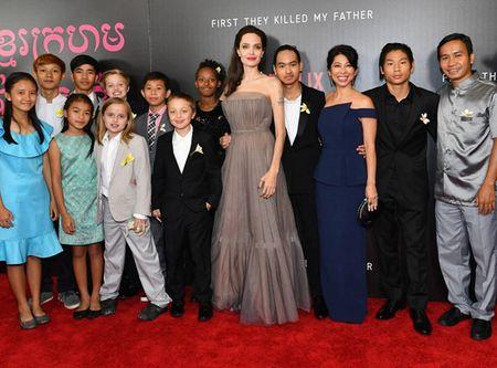 Bi an loai hoa dai gia dinh Angelia Jolie cung cai tren tham do - Anh 2
