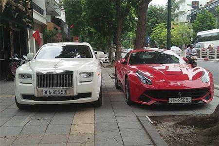 Ngam bo doi sieu xe 40 ty cua dai gia Ha Noi - Anh 1
