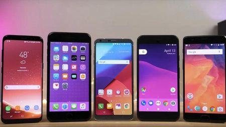 Smartphone Android co ti le truc trac gap doi iPhone - Anh 1