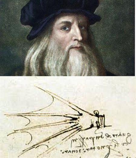 Sang che thiet bi boi lay cam hung tu tac pham cua Leonardo da Vinci - Anh 2