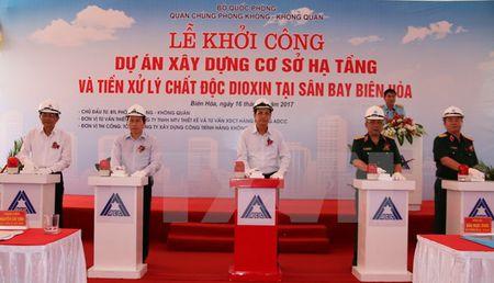 270 ty dong xay co so ha tang, tien xu ly dioxin tai san bay Bien Hoa - Anh 2