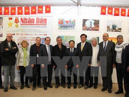 Viet Nam du Hoi bao Nhan dao lan thu 87 tai thu do Paris - Anh 1