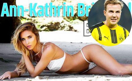 Bo Mario Gotze tung loat anh bikini moi coong 'nong rat mat' - Anh 1