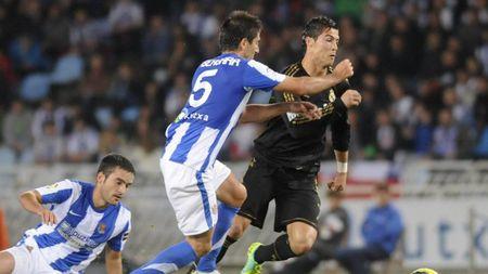 Ky la Ronaldo khong choi tren san Sociedad suot 6 nam - Anh 1