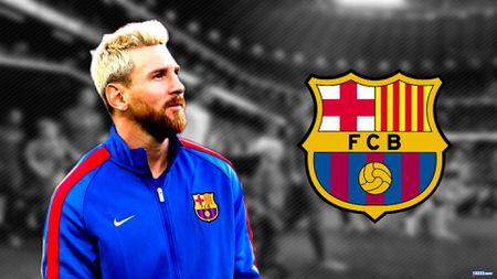 Dau hieu Messi tiep tuc the hien 'quyen luc den' o Nou Camp - Anh 1