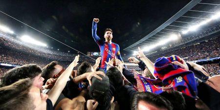 Dau hieu Messi tiep tuc the hien 'quyen luc den' o Nou Camp - Anh 5
