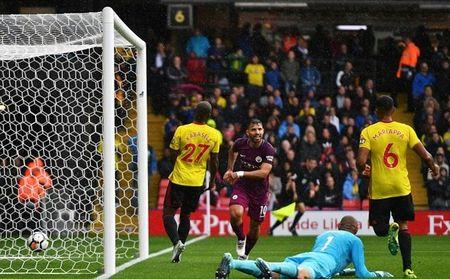 Watford 0-6 Manchester City: Goi ten ki luc gia Aguero - Anh 2
